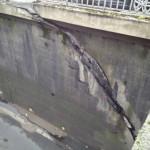 impact d'une faille sur construction